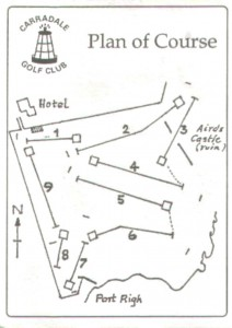 Plan of Golf Course